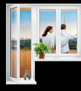 Балконная дверь ПВХ; 701-07-79; https://komfortbalkon.ru