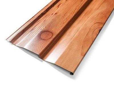 Сайдинг - деревянный, имитация бруса
