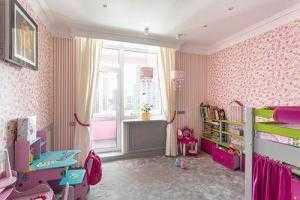 Объединение балкона с детской Престиж балкон