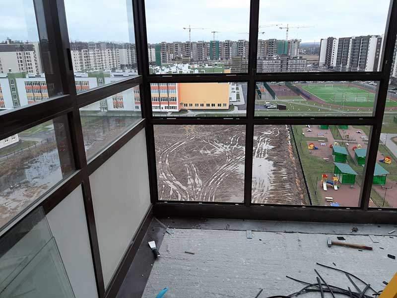 До утепления балкона Престиж балкон