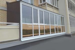 Гарантия на крышу балкона Престиж балкон