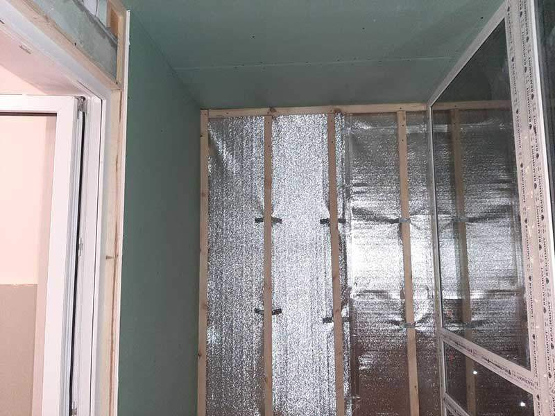 Утепление стен Престиж балкон