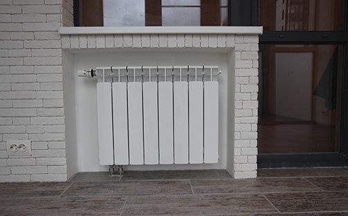 Отопление балкона и лоджии