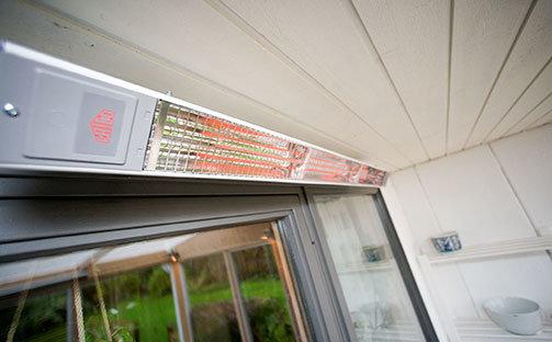 Инфракрасный обогреватель на балконе Престиж балкон