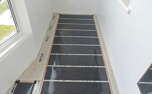 Инфракрасный теплый пол на балконе и лоджии Престиж балкон