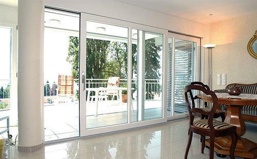 Параллельно сдвижные двери Престиж балкон
