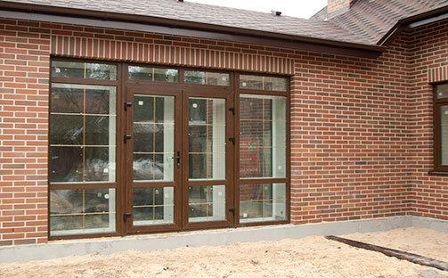 Входные двери ПВХ Престиж балкон