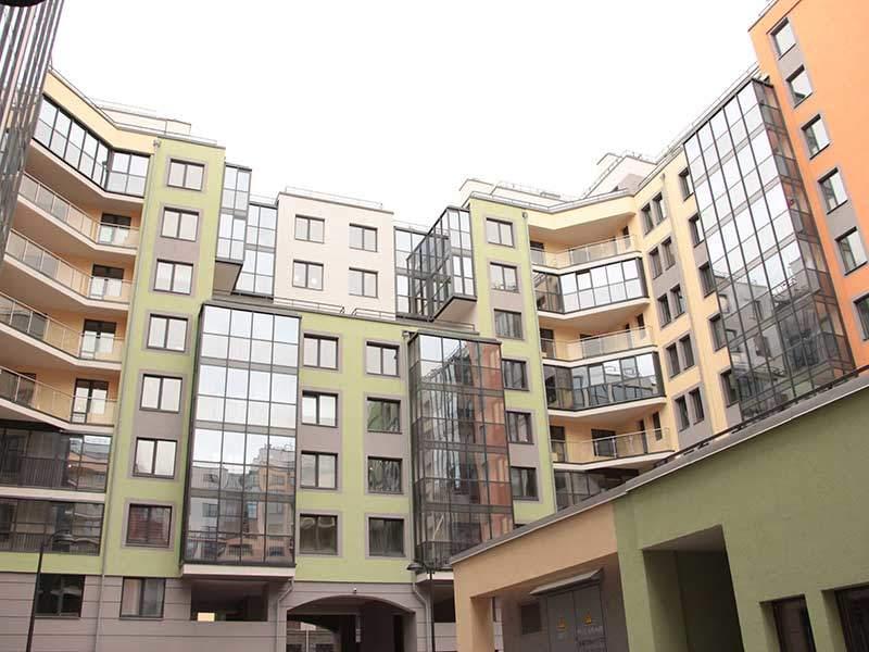 Теплое остекление в ЖК Палацио Престиж балкон