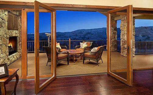 Штульповые двери Престиж балкон