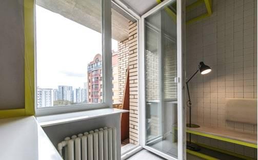 Одностворчатая дверь Престиж балкон