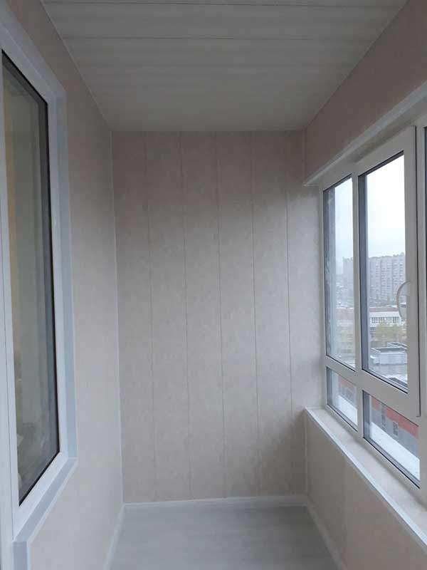 Отделка балкона ЖК Bau Haus