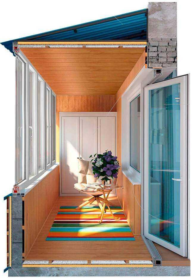Балкон внутренняя отделка Престиж балкон +7 (812) 701-07-79, 980-24-90